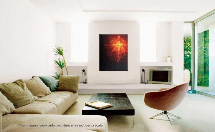 Element-of-Fire-Abstract-Painting-interior-view