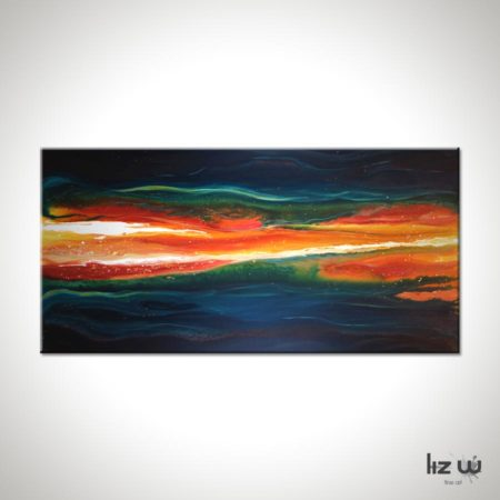 Ignited-Liz-W-Abstract-Lava-Painting