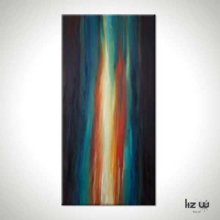 Illuminous-Flame-Abstract-Painting