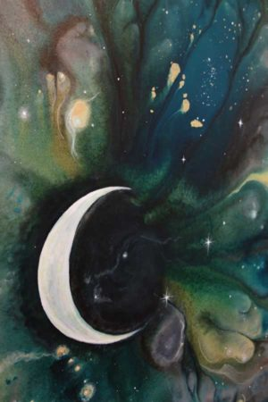 Moonstruck-Abstract-Painting-close-up-2