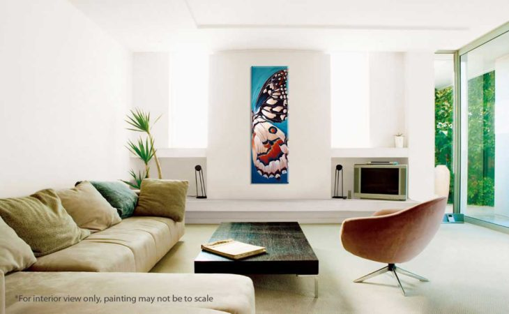 Landed-Butterfly-Wing-Painting-interior-view