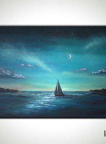 Crescent-Sail-Moon-Sailboat-Painting