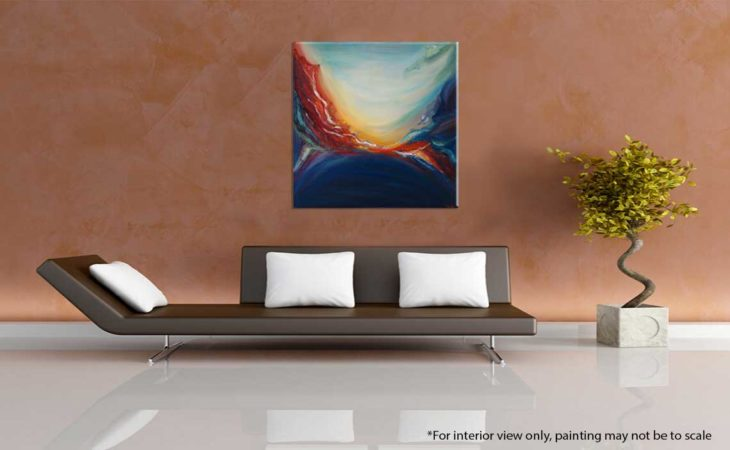 Daybreak-Abstract-Painting-interior-view