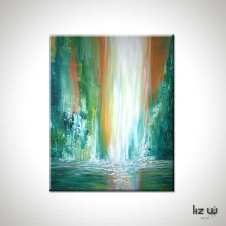 Maui-Falls-Waterfall-Painting