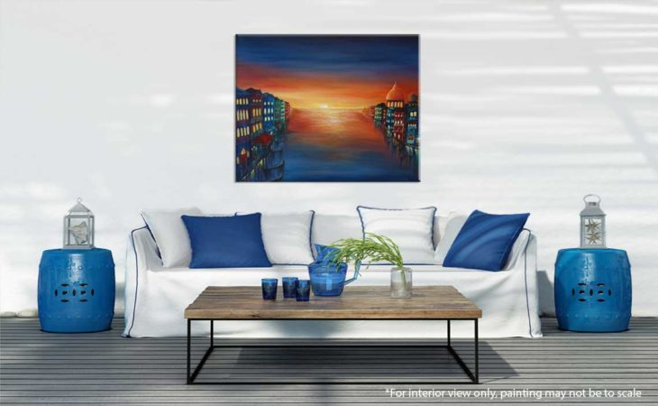 Venice-Sunset-Painting-interior-view