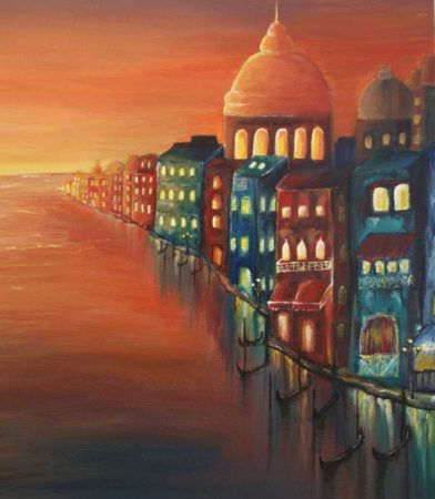 Venice-Sunset-Painting-side-2
