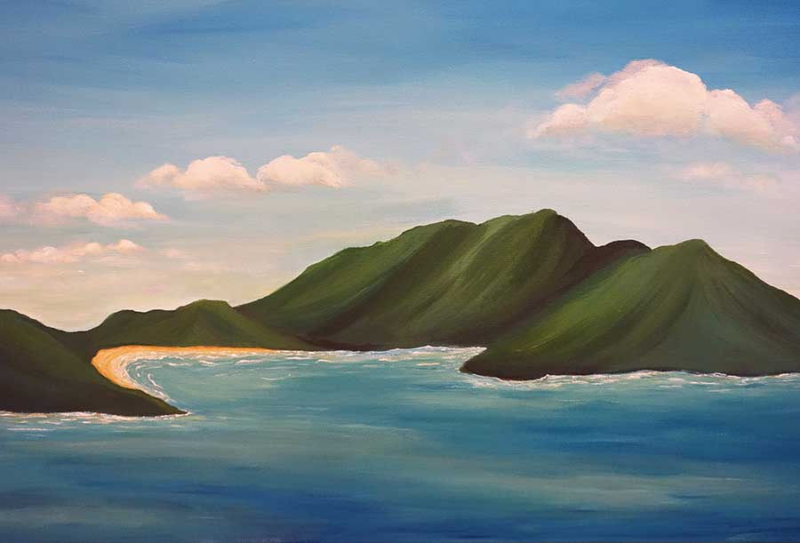 Virgin Islands Painting Liz W Fine Art