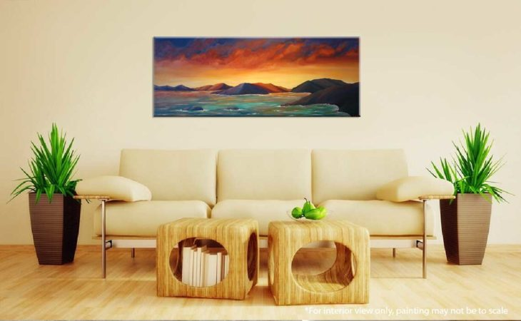 Firey-Sunset-in-the-Virgin-Islands-Painting-interior-view