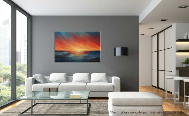 The-Edge-of-Sunset-Seascape-Painting-interior-view