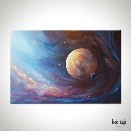 The-Unknown-Planet-Space-Painting