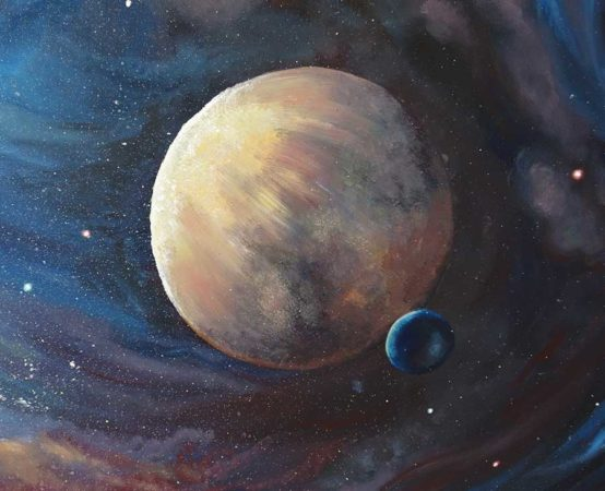The-Unknown-Planet-Space-Painting-close-up-2