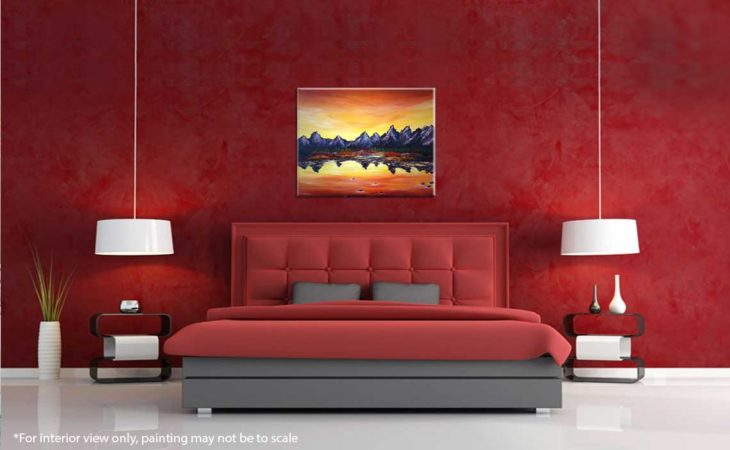 Sunset-Over-Grand-Tetons-Painting-interior-view-2