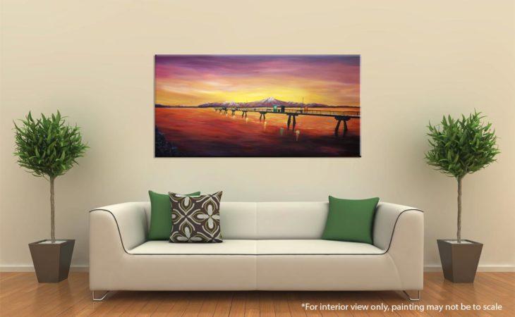 Edmonds Sea Painting-an-engagement-at-the-edmonds-pier-liz-w-seascape-painting-interior-2
