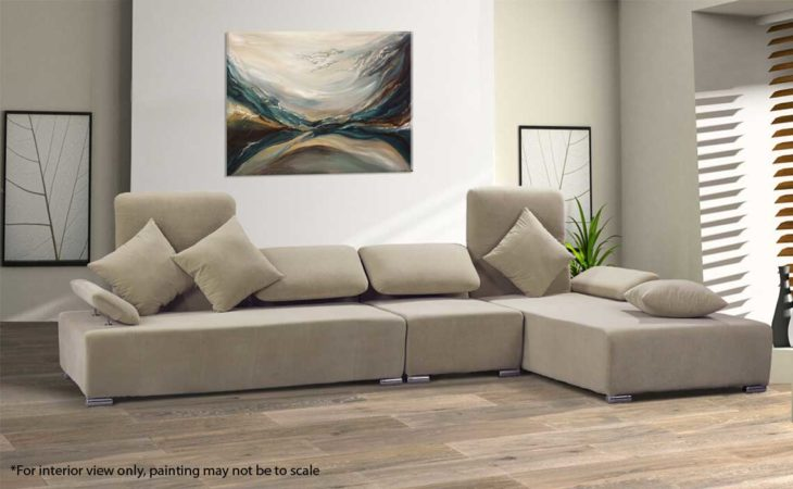 Through-Water-to-Earth-Abstract-Painting-interior-Liz-W