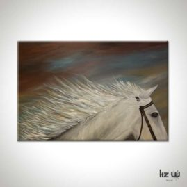 White-Horse-Painting-Liz-W-Figure-Painting