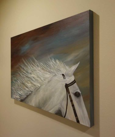 White-Horse-Painting-Liz-W-Figure-Painting-side-2
