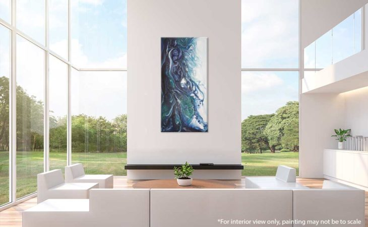 Abstract-Sea-Painting-Marine-Life-Liz-W-Abstract-Painting-Interior