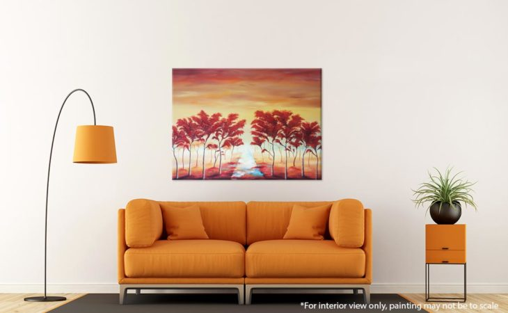 Landscape-Tree-Painting-Whispering-Path-Through-the-Trees-Liz-W-Landscape-Painting-Interior-3