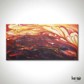 All-you-have-is-your-fire-Abstract-Painting-Liz-W