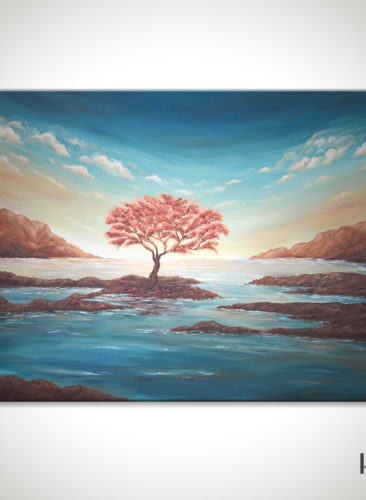 The-Copper-Tree-Painting-Seascape-Liz-W