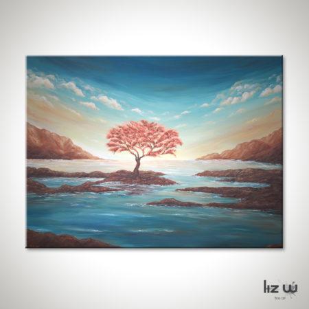 The-Copper-Tree-Painting-Seascape-Liz-W