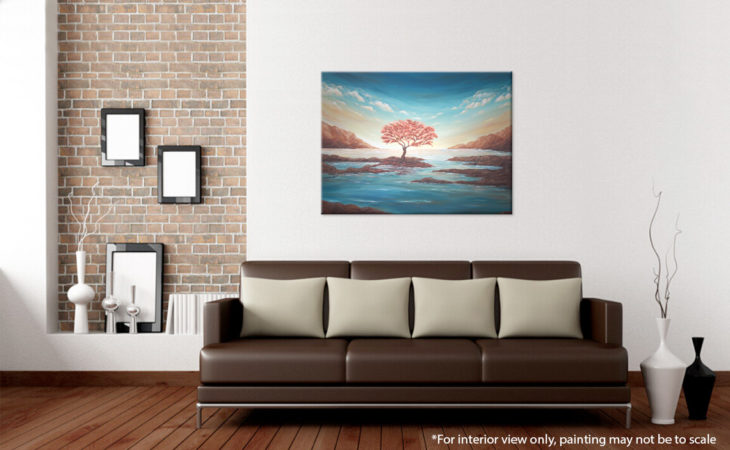 The-Copper-Tree-Painting-Seascape-Liz-W-interior-2