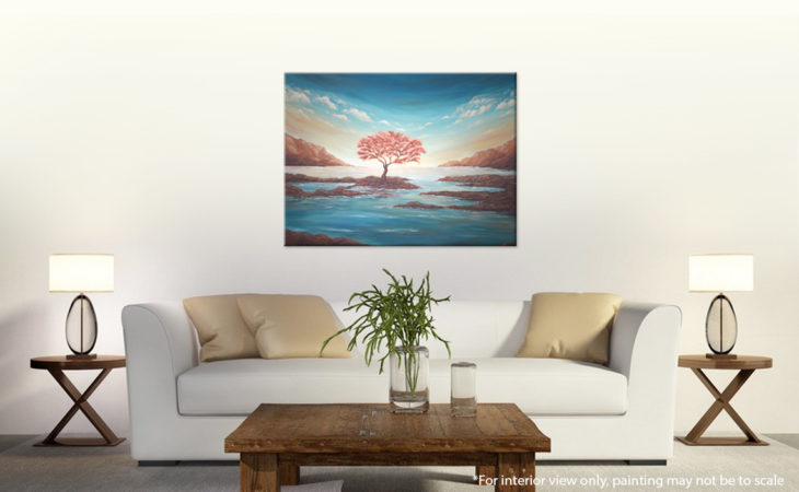 The-Copper-Tree-Painting-Seascape-Liz-W-interior-5