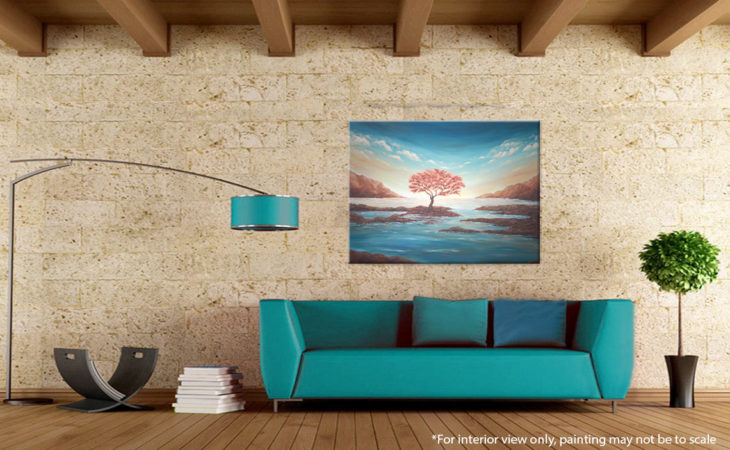 The-Copper-Tree-Painting-Seascape-Liz-W-interior