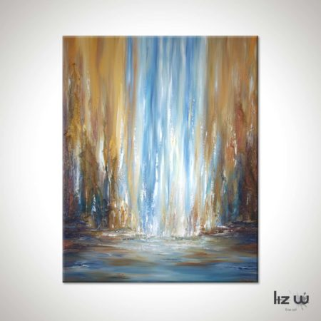 Aspen-Falls-Abstract-Waterfall-Painting-Liz-W