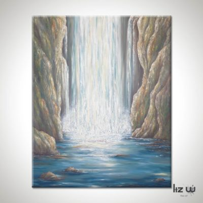 Secret-Falls-of-Blue-Ridge-Liz-W-painting