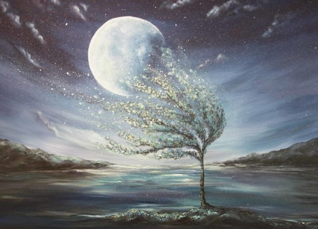 Moonlight-Tree-Surreal-Painting-Liz-W