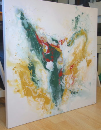 Spirit of the Southwest Abstract Painting Liz W